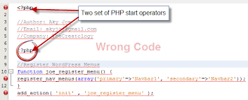 Wrong PHP Code TheCreatology