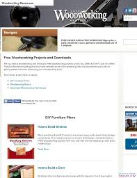 Canadian Woodworking Magazine by Canadian Woodworking Magazine Free Woodworking Plans The