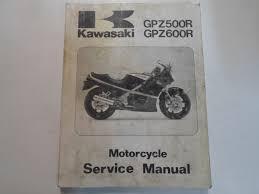 1985 1986 1987 1988 1989 kawasaki gpz500r gpz600r service manual