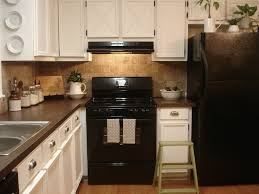 cozy distressed black kitchen cabinets on with new painted idolza