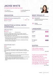 sample resume of teacher applicant examples of resumes by enhancv jackie white resume page 1