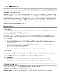 Resume Format Nursing Job by Nurses Resume Samples Template Job Description Icu Nurse Cardiac
