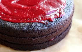 pickycook chocolate raspberry layer cake chocolate