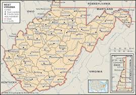 Ohio Kentucky Map by State And County Maps Of West Virginia
