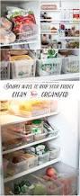 Kitchen Organization Ideas Pinterest 167 Best Fridge Freezer Organizing Images On Pinterest Kitchen