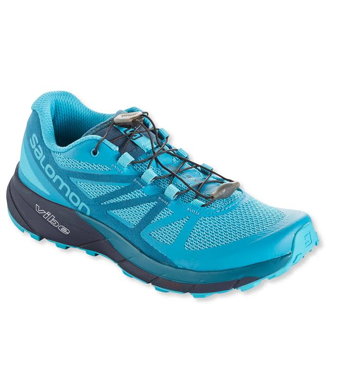 Salomon Sense Ride Trail Running Shoe Blue Bird/Deep Lagoon/Navy Blazer 10 US Regular L39847700-10