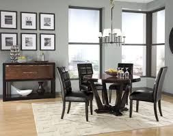 Contemporary Dining Room Table by Dining Room Contemporary Black Dining Room Sets With Round Shape