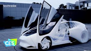 toyota motor car toyota concept i self driving car at ces 2017 youtube
