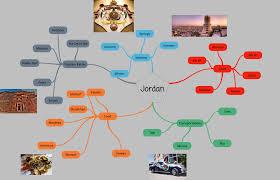 Jordan Country Map Country U2013 Himolim