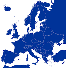 Blank Europe Map by File Blank Map Of Europe Cropped Blue Svg Wikimedia Commons