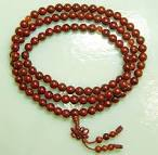 Lotus Seed (brown), 108ct 8mm Mala | Shade of the Bodhi Tree