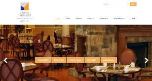 Interior Designer Website by Interior Creations Website Design Studiothought Business