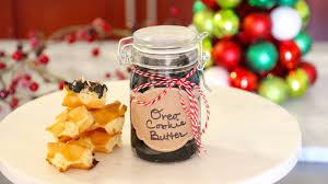 diy edible christmas gifts oreo cookie butter kena peay day 1