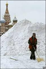 Rússia enfrenta temperaturas de até -57ºC