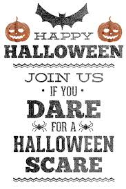halloween party invitations free printable u2013 festival collections