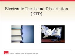 Electronic Thesis and Dissertation  ETD  Graduate School of Biomedical Sciences SlidePlayer