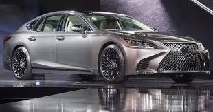 lexus vancouver hours 2018 lexus ls luxury sedan at 2017 detroit auto show