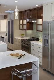 Vintage Kitchen Backsplash Kitchen Cabinet White Cabinets With Azul Platino Granite