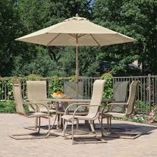Resin Wicker Patio Furniture Sets - resin wicker outdoor furniture set and patio umbrella modern plus