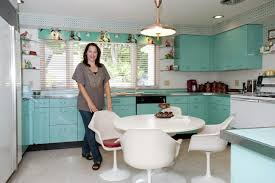 Vintage Kitchen Backsplash Pastel Yellow Retro Range White Cabinet And Backsplash Dark Wood