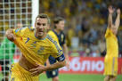 Image previous Ukrainian Forward Andriy Shevchenko Celebrates AFP Getty Images Picture