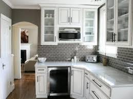 Modern Elegant White Kitchen Glass Cabinets My Home Design Journey - Kitchen cabinet with glass doors