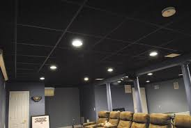 Black Ceiling Basement by Bob Cipolla Home Improvement Providing Quality Craftmanship For