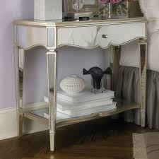 Vanity Stools With Wheels Home Design Cheap Mirrored Nightstand Regarding Your House Home
