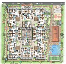 Palace Floor Plans by Ultra Luxury Apartment Complex Lalith Mahal Mysore One