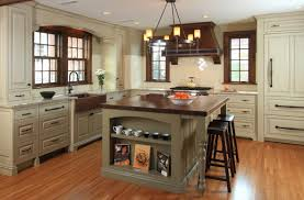 trendy english cottage style kitchen come with rectangle shape