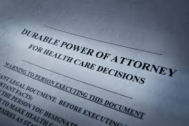 Durable Power Of Attorney Healthcare by Advance Medical Directives For Making Health Care Decisions