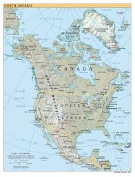 Political Map Of Latin America by Maps Of North America Map Library Maps Of The World