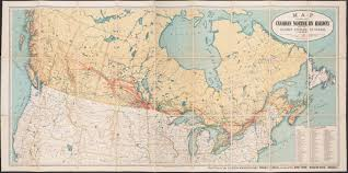 Canada Rail Map by Putting Canada On The Map Library Matters