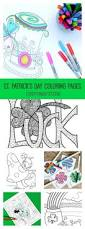 12 st patrick u0027s day printable coloring pages for adults u0026 kids