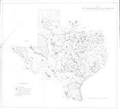 Hydrology Map Groundwater Bulletins Texas Water Development Board