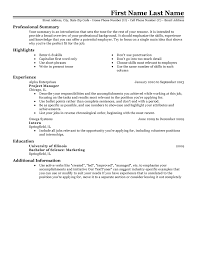 Skill Set Resume Examples by Free Resume Templates 20 Best Templates For All Jobseekers