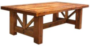 Recycled Barnwood Dining Table  Rocky Mountain Furniture - Barnwood kitchen table