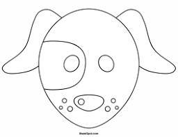 dog mask color teatro mascaras 1 dog mask