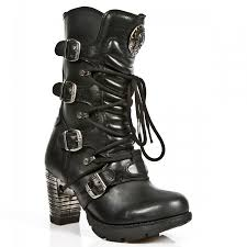 high heel motorcycle boots new rock m tr003 s1 boots trail