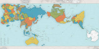 Peters Projection World Map by Map Madness U2013 Five Guys Facts U2013 Medium