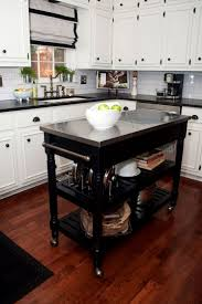 Kitchen Peninsula With Seating by Best 25 Portable Kitchen Island Ideas On Pinterest Portable