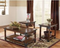Rustic Wood Living Room Furniture Coffee Tables Interesting Coffee And End Tables Designs End