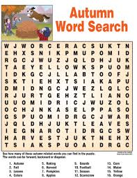 printable halloween worksheets autumn word search word search puzzles pinterest word search