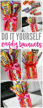 make your own candy bouquets for valentines day fathers day