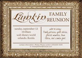 Reunion Cards Invitation Pass The Pineapple Family Reunion Invitations
