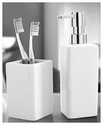 White Bathroom Accessories Set by All Products Bath Bathroom Accessories Bathroom Accessory