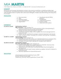 12 Amazing Transportation Resume Examples Livecareer by Unforgettable Administrative Assistant Resume Examples To Stand