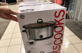 Jcpenney Clocks 7 99 Cooks Slow Cooker Kettle Waffle Maker U0026 More At Jcpenney