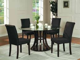 dining room cool solid wood dining room table and chairs black
