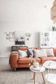 Living Room Settee Furniture by Best 20 Orange Sofa Ideas On Pinterest Orange Sofa Design